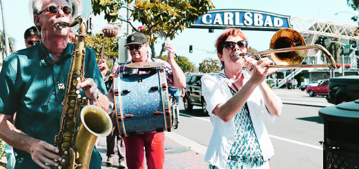 Euphoria Brass Band at Carlsbad Music Festival Village Walk, 2015