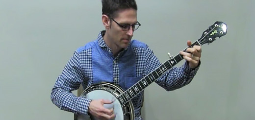 Jayme Stone plays the banjo