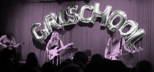 A band performs at GirlSchool