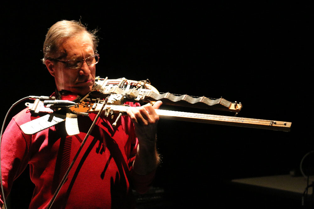 Ken Butler plays his Golf Club Sitar / Tabla