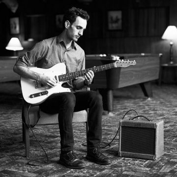 Julian Lage plays guitar