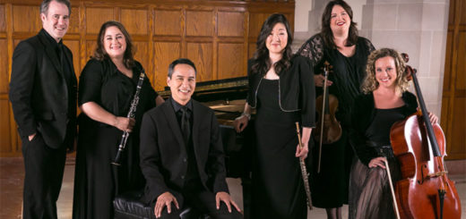Members of Picosa pose with their instruments